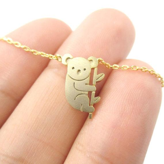 Koala Bear Awareness Necklace