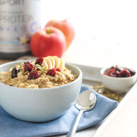 Apple Cranberry Oatmeal