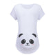 Cartoon Maternity Top Allaitement Funny Pregnancy Tees Pregnant Women T Shirts Plus Size