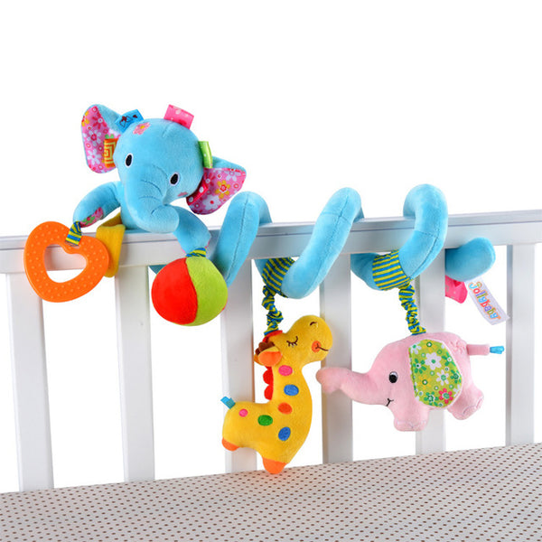 Newborn Baby Toys 0-12 Months Stuffed Stroller Toys