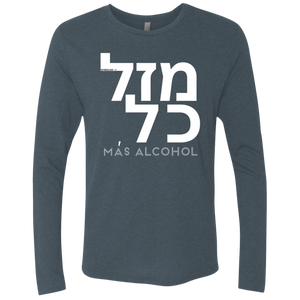 MAZAL KOL - Next Level Men's Triblend LS Crew