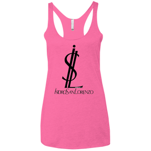 ISIDRO SAN LORENZO - Next Level Ladies' Triblend Racerback Tank