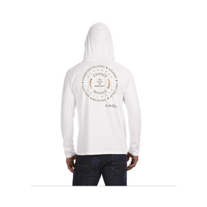 Cycle of Abundance Back - Anvil LS  UNISEX T-Shirt Hoodie
