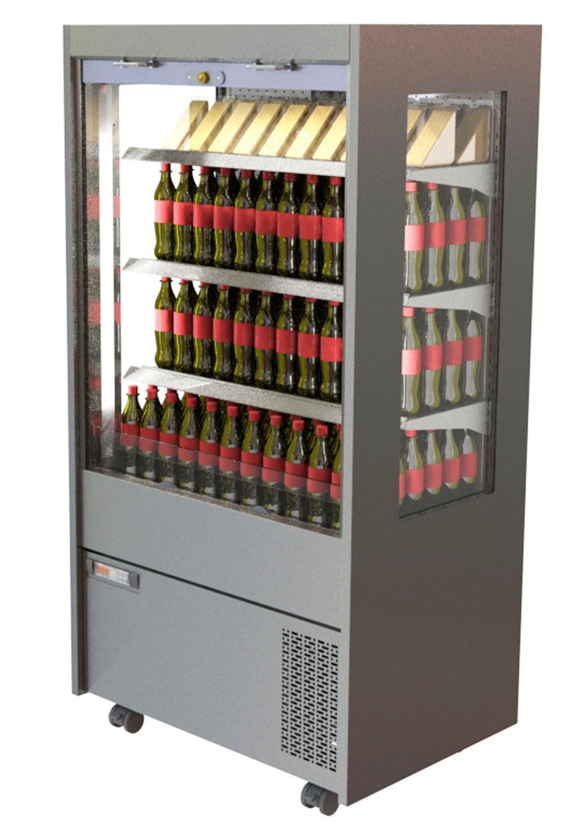 CED Chilled Multideck MM1200SHT (With Panoramic glazed side panels)