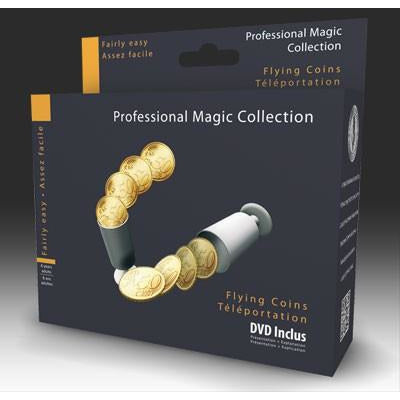FLYING COINS ILLUSION  WITH DVD