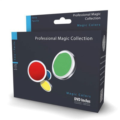MAGIC COLOURS ILLUSION  WITH DVD