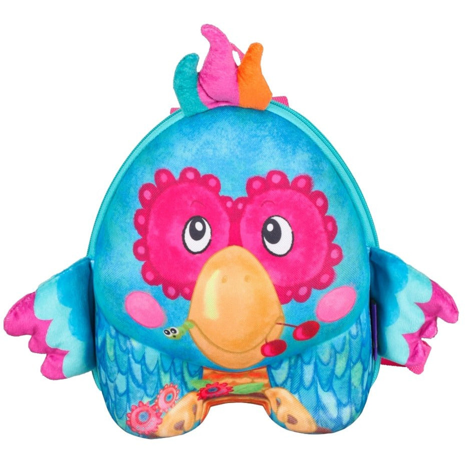 Okiedog Wildpack Backpack Parrot - toybox.ae
