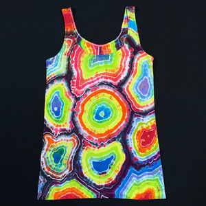 Women's Small Old Navy Rainbow Geode Tie Dye Tank Top