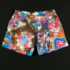 Women's 4 Banana Republic Tie Dye Denim Shorts