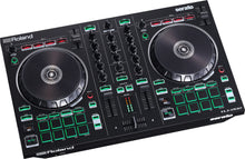Roland DJ-202 Serato DJ Controller Bundle w/ Active Speaker and Headphones