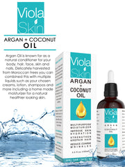 Argan & Coconut Oil