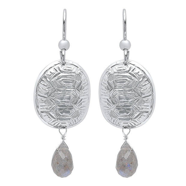 Loksi Earrings in Sterling Silver