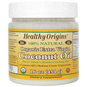 Healthy Origins Coconut Oil Organic Extra Virgin (1x16 Oz)