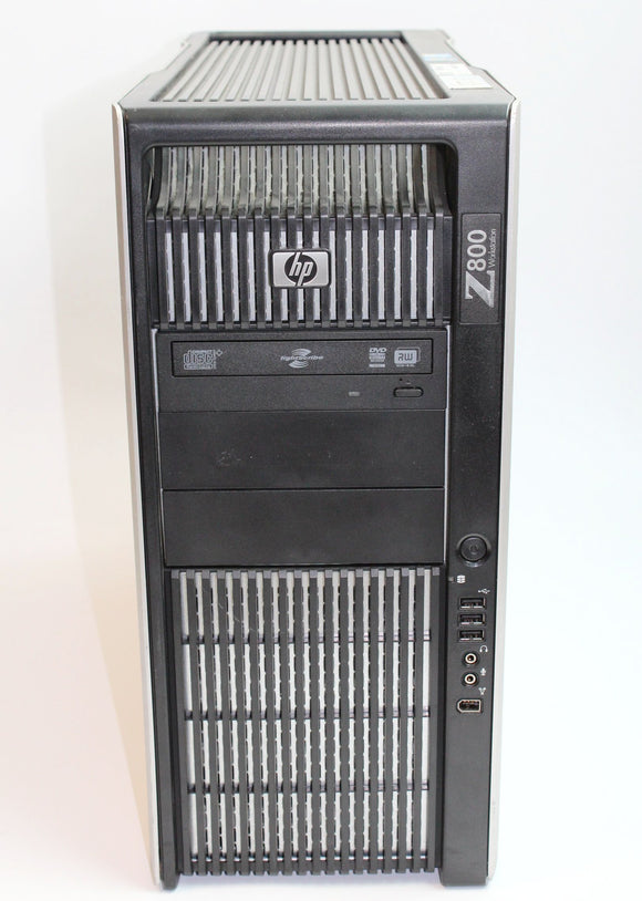 HP Z800 - Desktop Workstation, Xeon x5650, 2.67 GHz, 48Gb,  4x 1tb SATA HD, Grade A Refurbished
