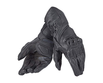 Dainese Veloce Gloves - Black - Cowhide & Kangaroo Leather - DublinLeather