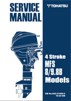 SERVICE MANUAL - TOHATSU- 8/9.8B 4STR