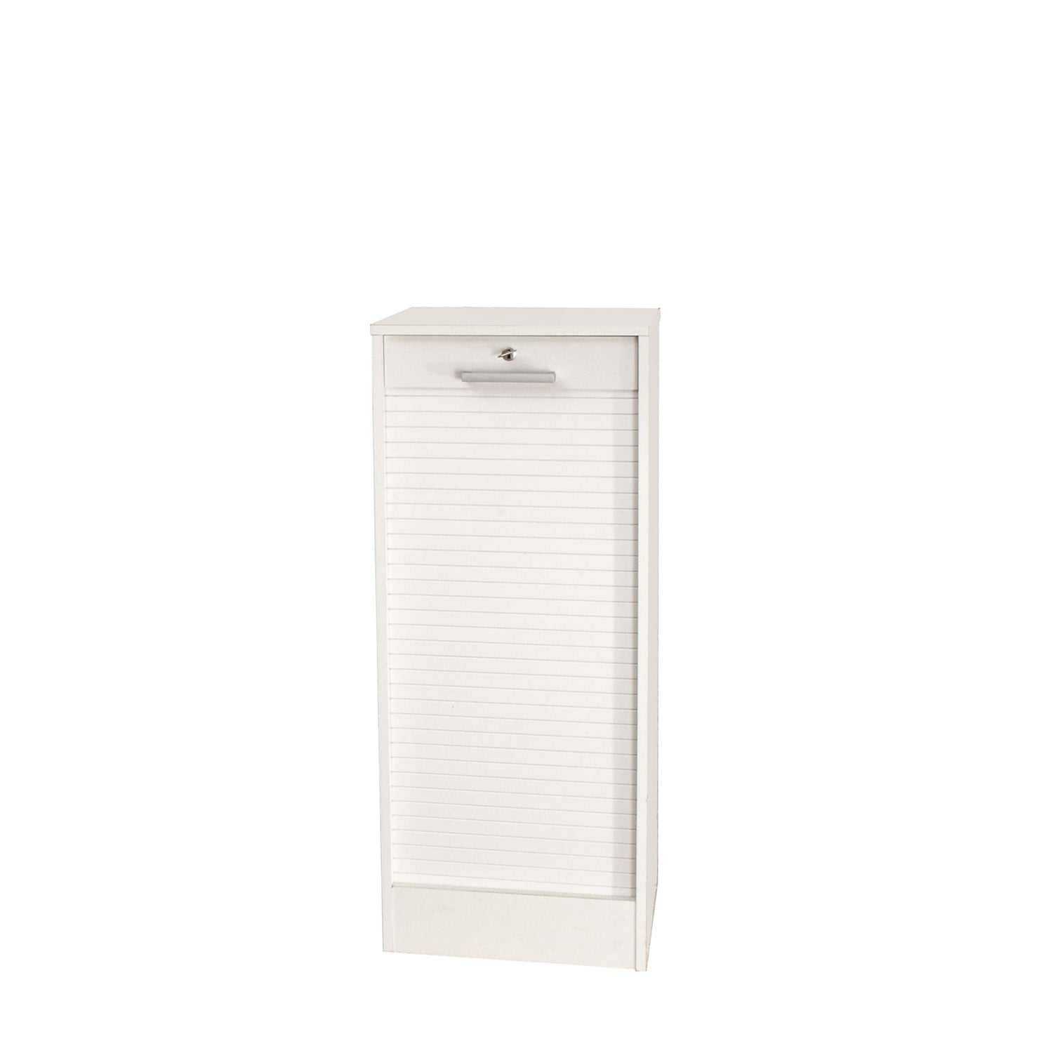 Avrel White Vertical File Cabinet