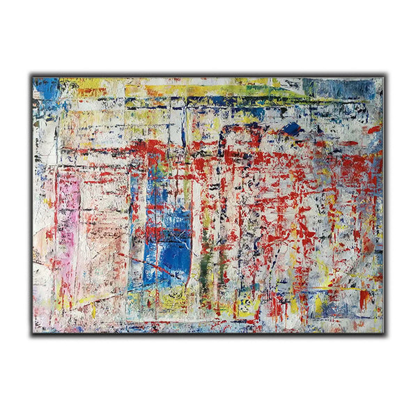 Multi-Color ORIGINAL Modern Abstract Painting