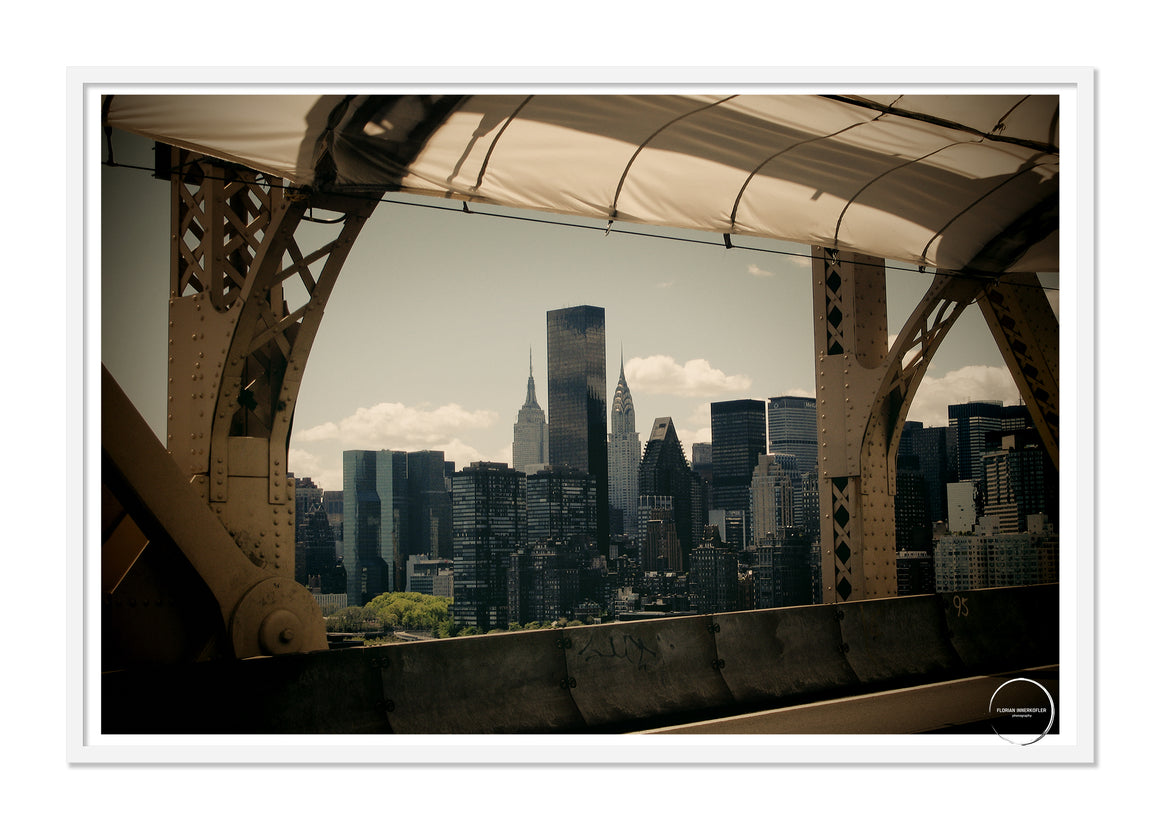 ED KOCH BRIDGE NYC POSTER