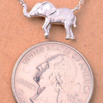 Allie Elephant Pendant Necklace