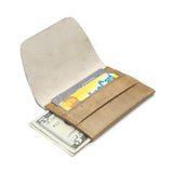 Sustainable Leather Wallet - Caramel - Matr Boomie (W)