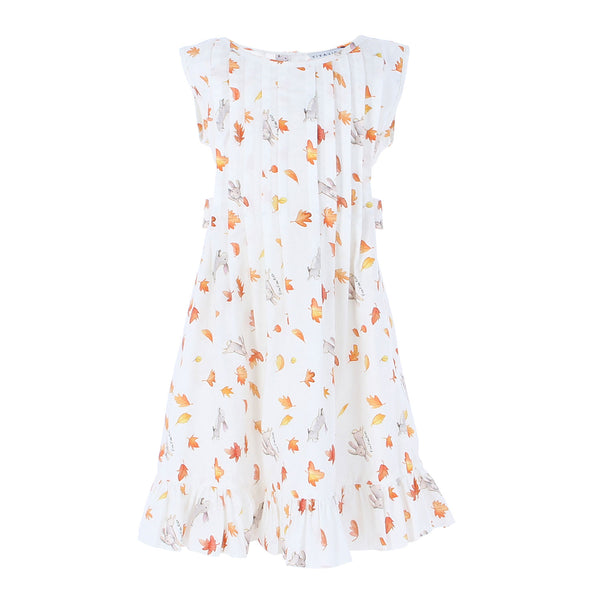 Indie Dress Autumn Leaves