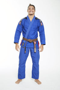 Atama Ultra Light Blue BJJ Gi 2.0