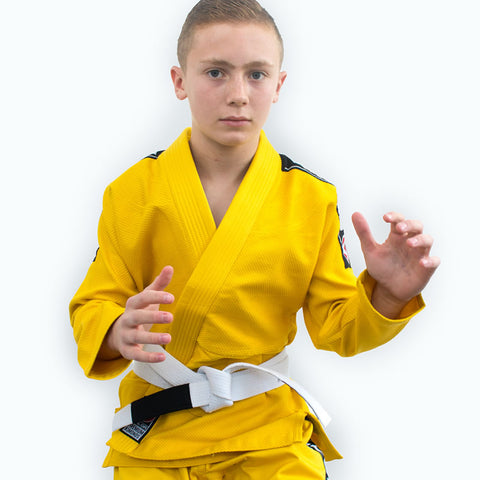 Bravura Yellow Kids BJJ GI