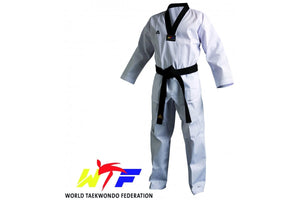 Adidas Junior WTF Champion III Dobok Black Collar