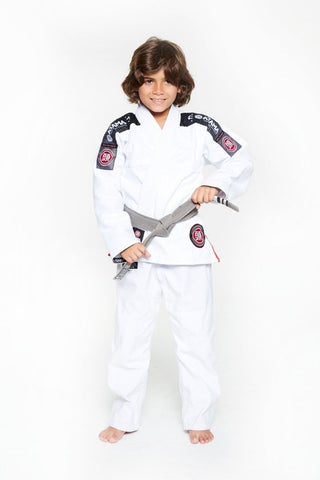 Atama Ultra Light White Kids BJJ Gi