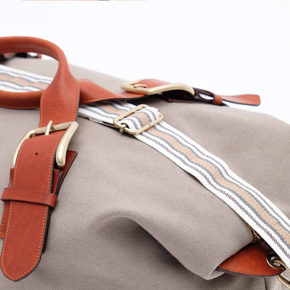 Leather Duffle Bag | Mick Cement 5