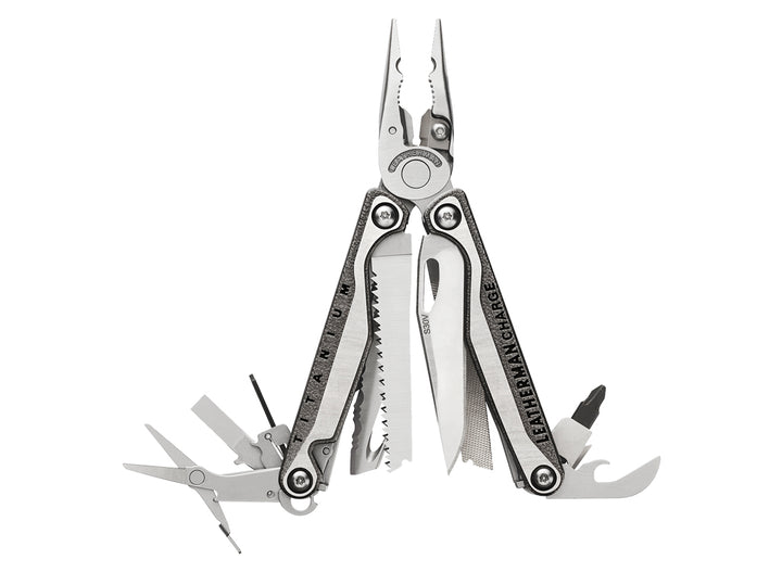 Leatherman Charge TTi + Multi-Tool w/ Nylon Sheath - Stainless Steel