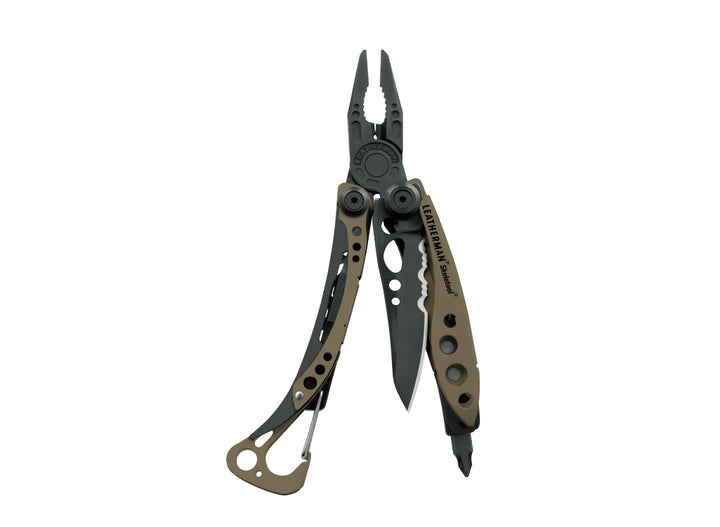 Leatherman Skeletool Pocket Multi-Tool - Coyote & Black