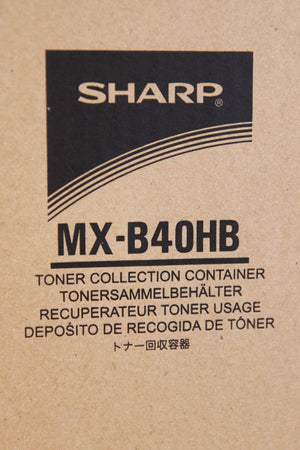 Sharp MX-B40HB Waste Toner Collection Container