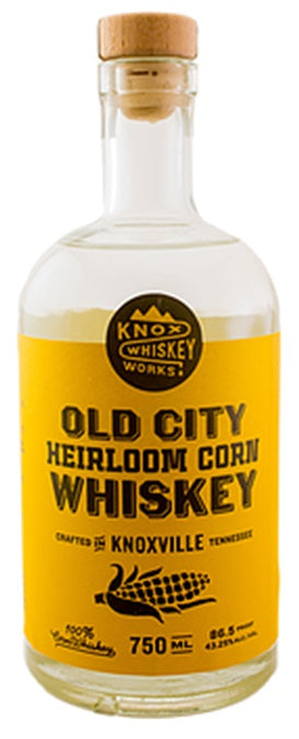 Knox Whiskey Works Old City Heirloom Corn Whiskey