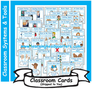 K: Learning Positions, Chants, and Signals - Card Set