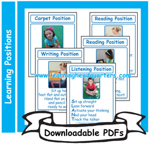 K: Learning Positions - Downloadable PDFs