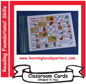 K: Sounds & Letters Alphabet - Student Mats (Set of 30)