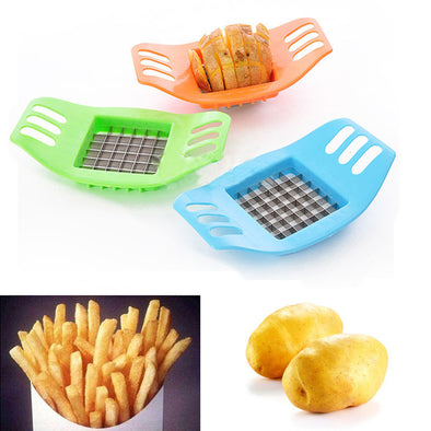 1Piece French Fry Potato Chip Cut Cutter Vegetable Fruit Slicer Chopper