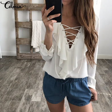 Womens Summer Blouse