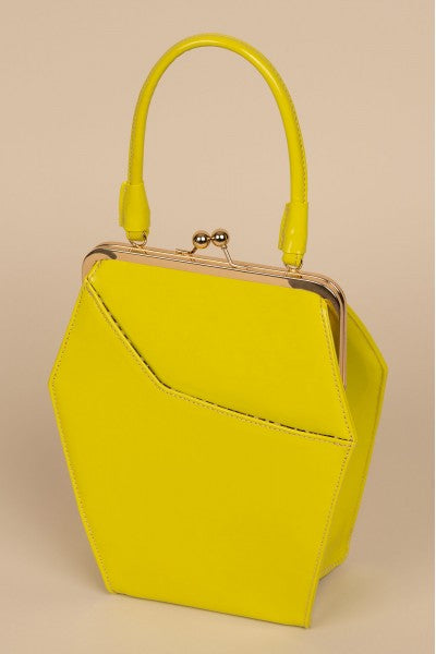 To Die For Handbag in Chartreuse