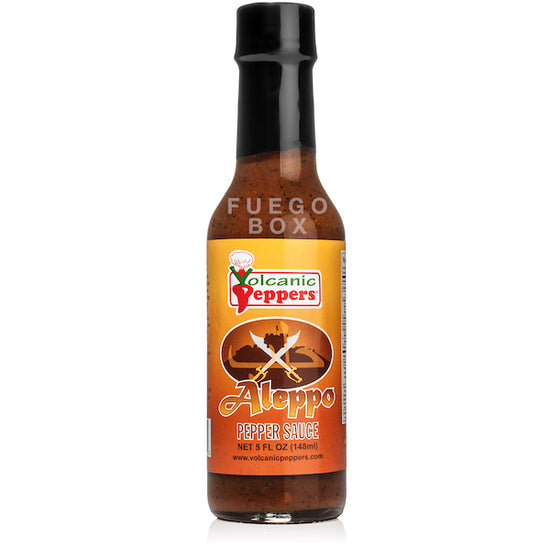 Volcanic Peppers Aleppo Pepper Sauce