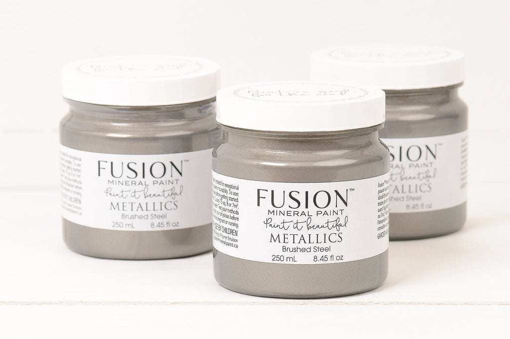 Fusion Metallic Brushed Steel