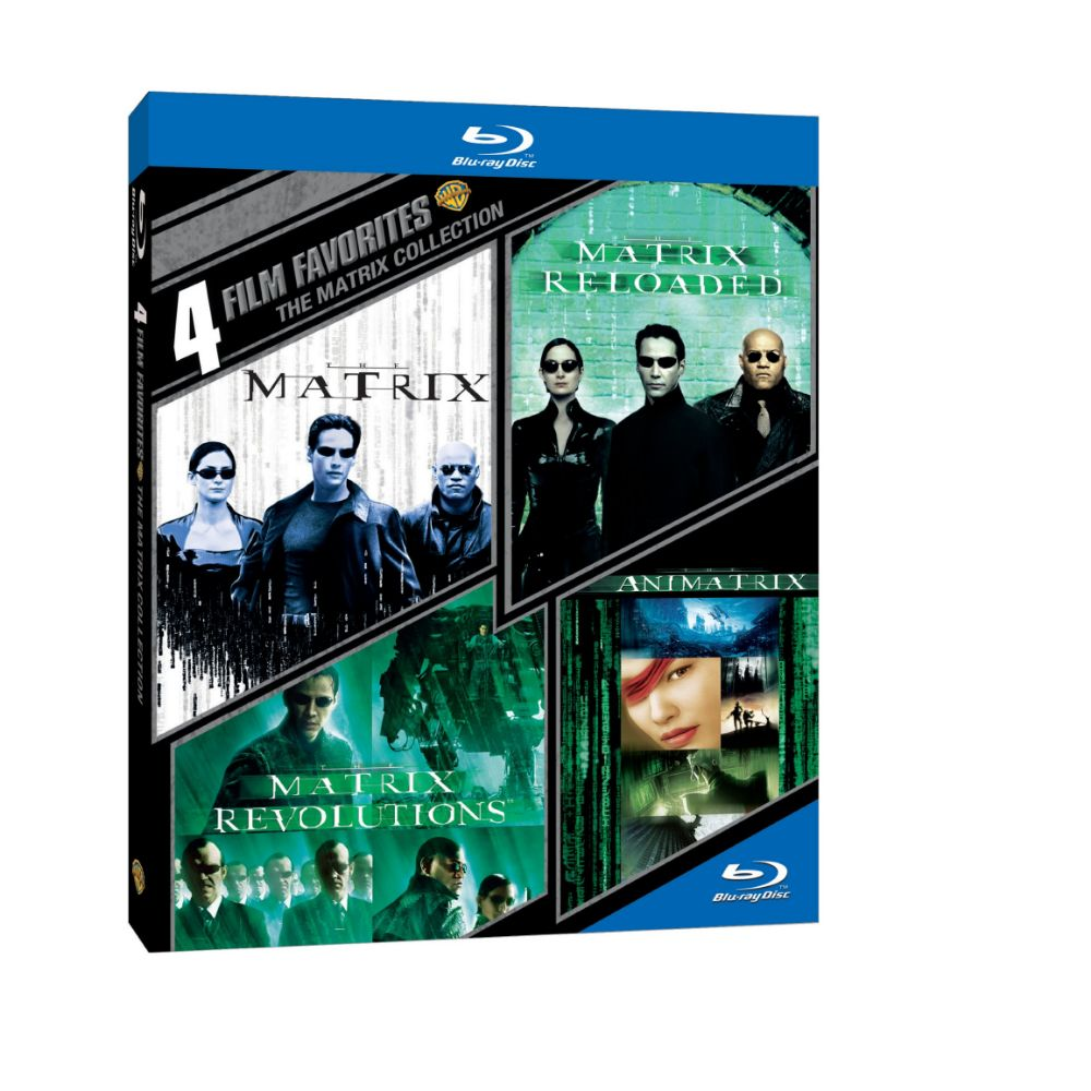 4 Film Favorites: The Matrix Collection (BD)