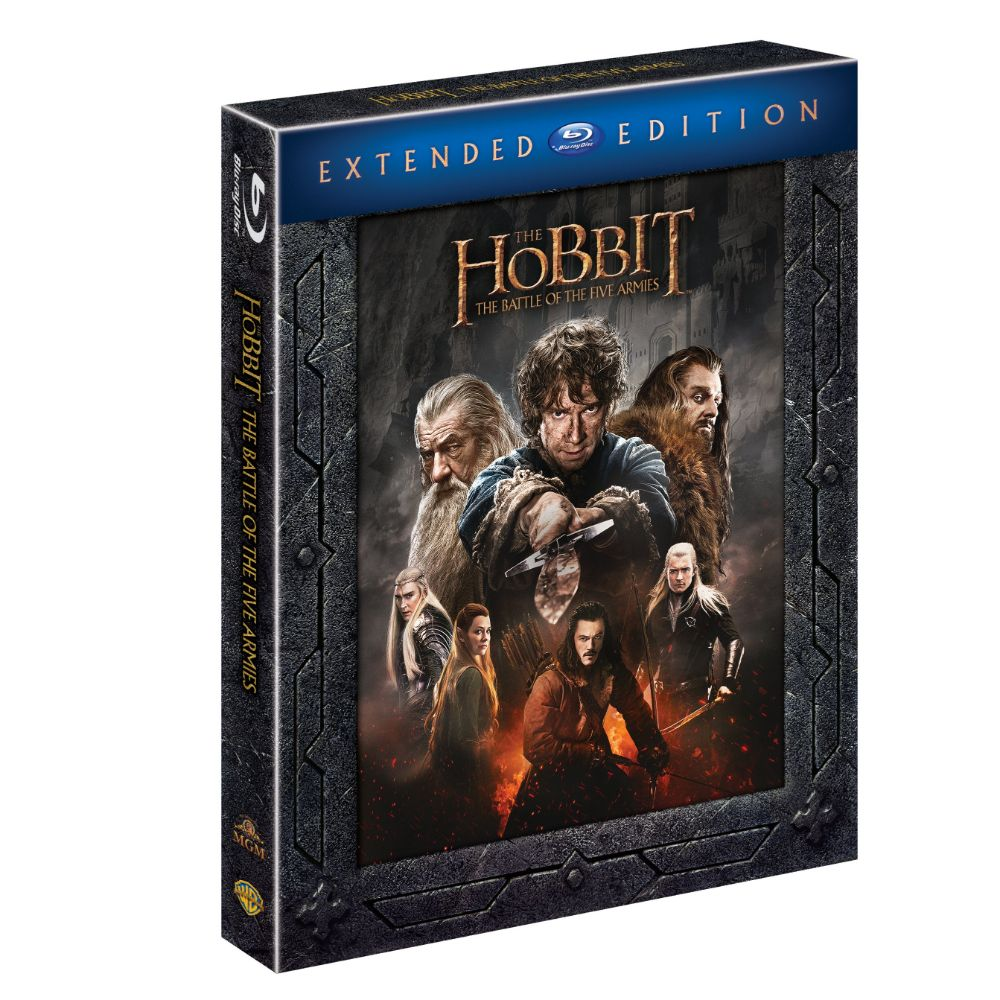The Hobbit: The Battle of Five Armies (Extended Edition) (BD)