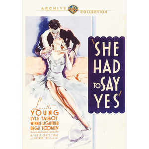 She Had to Say Yes (1933) (MOD)