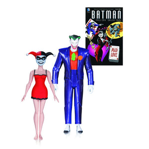 The Batman Adventures: Mad Love The Joker & Harley Quinn Book & Action Figure Set