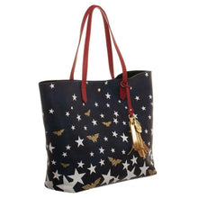 Additional image of Wonder Woman Logo & Stars Oversized Tote Bag