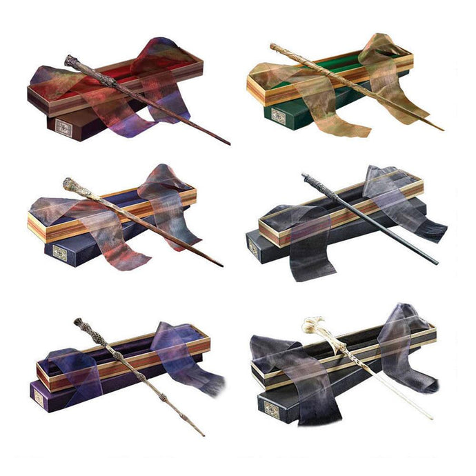 Harry Potter Wizarding Wand Collection Set of 6 by Noble Collection