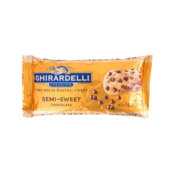 GHIRARDELLI Semi-Sweet Chocolate Chips  (340g)